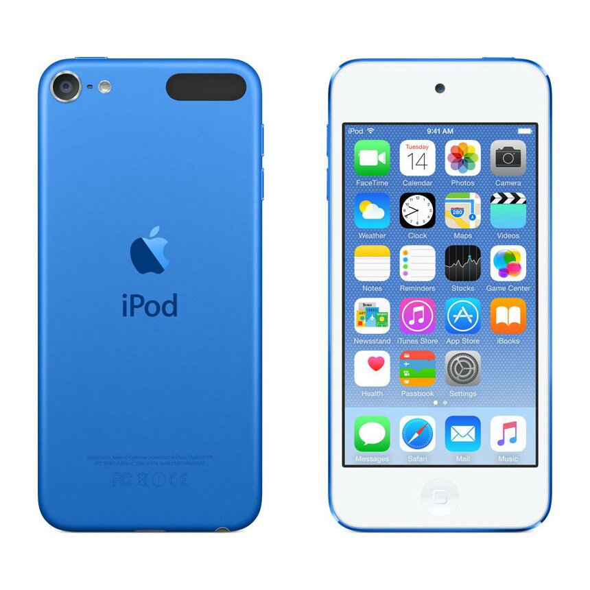 MP3/MPEG4 плеєр Apple A1574 iPod Touch 16GB Blue