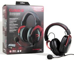 Гарнiтура HyperX Cloud II Gaming Headset Red