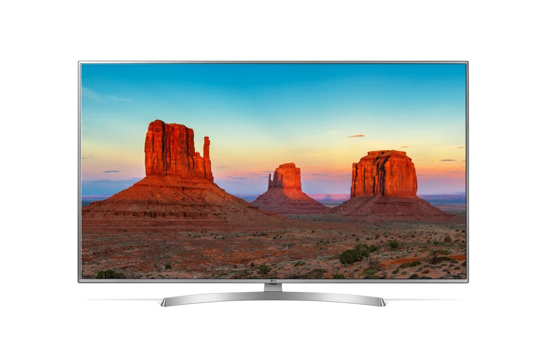 "Телевізор LED UHD LG 55"" 55UK6510PLB"